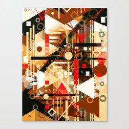 The Dark Attic Canvas Print