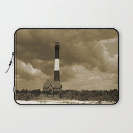 Fire Island Light In Sepia Laptop Sleeve