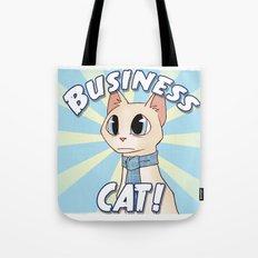 Business Cat! Tote Bag