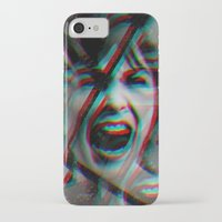 psycho iPhone & iPod Cases featuring PSYCHO by Inception of The Matrix