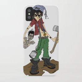 """Cordwood Pete""  iPhone Case"