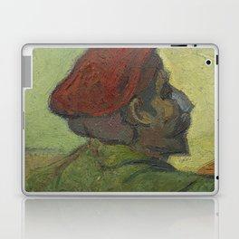 Paul Gauguin (Man in a Red Beret) Laptop & iPad Skin