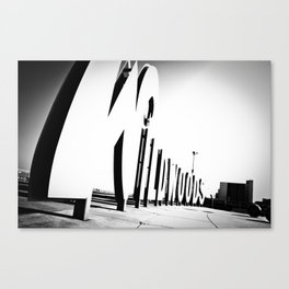 Wildwood Sign Canvas Print