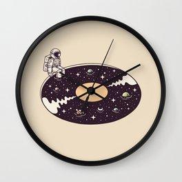 Cosmic Sound Wall Clock