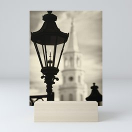Lantern Near St. Michael's Mini Art Print