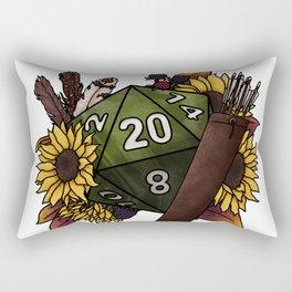 Ranger Class D20 - Tabletop Gaming Dice Rectangular Pillow