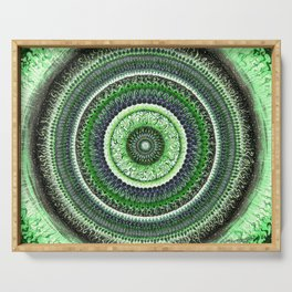 Living Forest Mandala Serving Tray
