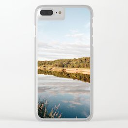 Riverside at Dusk Clear iPhone Case