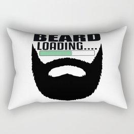 Beard Bear Lover Gift Idea Bearded Rectangular Pillow
