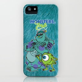 Monsters Ink iPhone Case