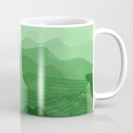 Misty Mountain Green Coffee Mug