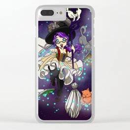 Library Witch Clear iPhone Case
