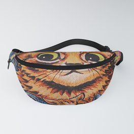 Cat and Her Kittens-Louis Wain Cats Fanny Pack