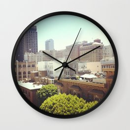 From my apartment Wall Clock