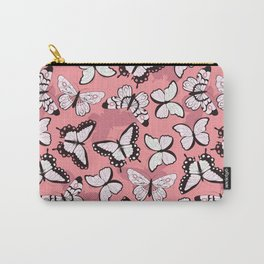 Butterfly pattern 006 Carry-All Pouch