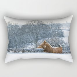 Derelict barn Rectangular Pillow