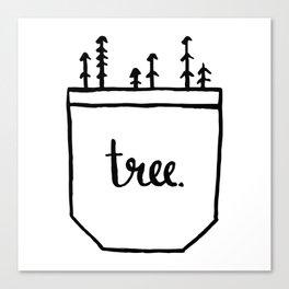 Pocket of Trees Canvas Print