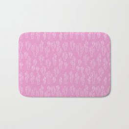 Cactus in Pink Palette Bath Mat