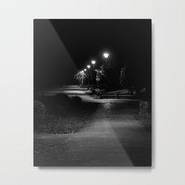 Park path Subotica Metal Print