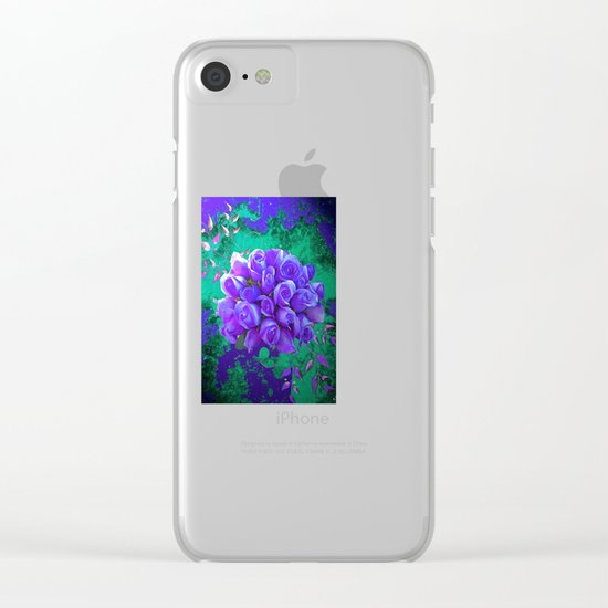 Roses Clear iPhone Case