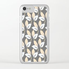 Classic leaves Clear iPhone Case