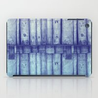 library iPad Cases featuring Vintage library by Maureen Mitchell