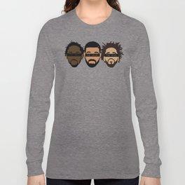 Drake, J Cole, Kendrick (Heart, Mind, Soul) Long Sleeve T-shirt
