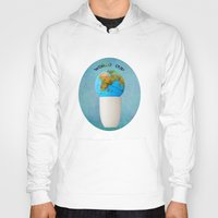 world cup Hoodies featuring World cup by Anne Seltmann