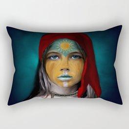 Chalchiuhtlicue Rectangular Pillow