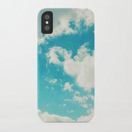 Teal Sky iPhone Case