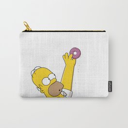 Homer Simpson Donut icon Carry-All Pouch