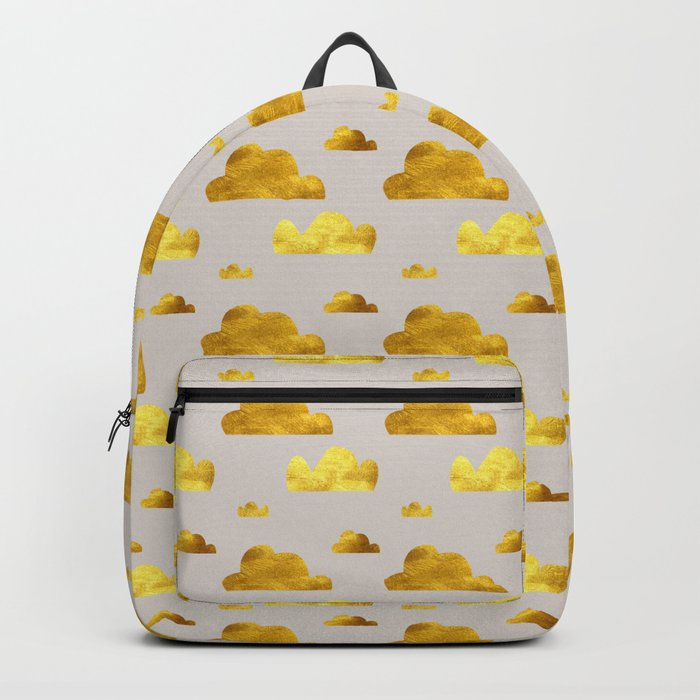 Gold Clouds Backpack
