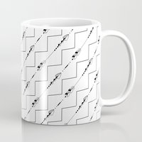 arrow Mugs featuring Arrow by Lady Antler