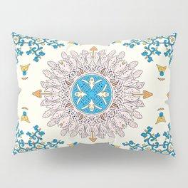 Sunny day Mandala Pillow Sham