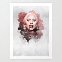The Countess Art Print