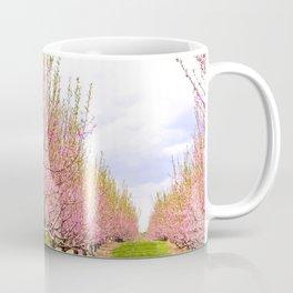 Pink Flowering Trees Coffee Mug