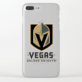 Vegas Golden Knights Clear iPhone Case