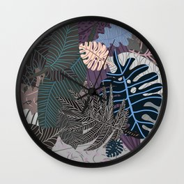 Faded Nature Pale Eternity Wall Clock