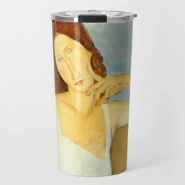 "Amedeo Modigliani ""Jeanne Hebuterne"" Travel Mug"
