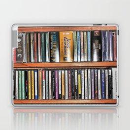 CD's on a Shelf Laptop & iPad Skin