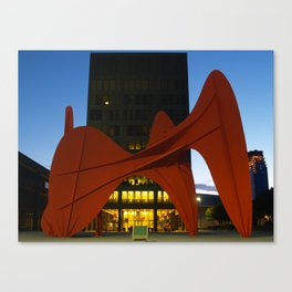 Alexander Calder's La Grande Vitesse  Canvas Print