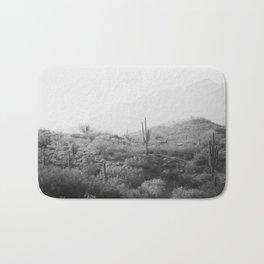 Wild West II - Black & White Version Bath Mat