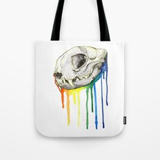 Skull Candy Kitty Tote Bag