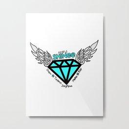 jonghyun logo Metal Print