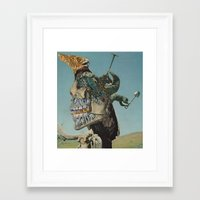 rush Framed Art Prints featuring Rush by David Delruelle