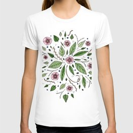 Hanging Among the Flowers & Leaves T-shirt