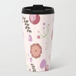 Flowers and Berries Travel Mug