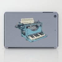 music iPad Cases featuring The Composition. by Matt Leyen