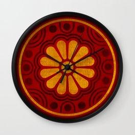 Kamon Alma –Red Wall Clock
