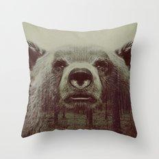 Bjørn Throw Pillow